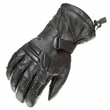 Thermal Waterproof Motorbike Motorcycle Gloves Carbon Knuckle Protection X-large