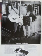 vintage magazine advert 1992 trantec s1000
