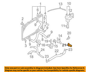 MITSUBISHI OEM 99-03 Galant Cooling System-Water Outlet MD326766