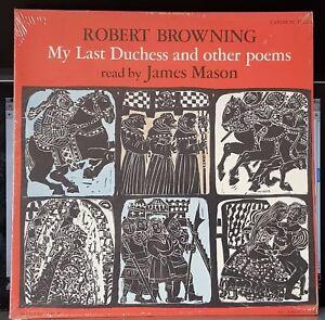 Robert Browning, My Last Duchess & other poems, James Mason, LP record + CD-R