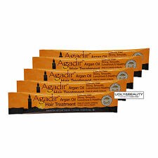"Agadir Argan Oil Hair Treatment Travel Tube ""Pack of 5"" Total 37.5 ml / 1.25 Oz"