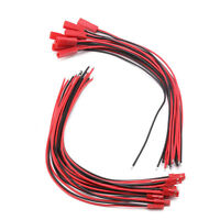 200mm Connector JST Plug Line Cable Male+Female For RC BEC Lipo Battery 10 Pairs