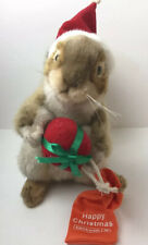Hansa Christmas Bankwest Squirrel Plush Soft Toy Collectable