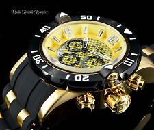 Invicta 48mm ProDiver GOLD Dial Scuba Quartz Chronograph 18K Gold Plated Watch