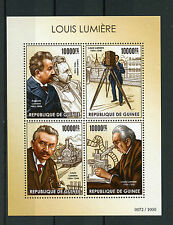 Historical Figures Guinean Sheet Famous People Postal Stamps