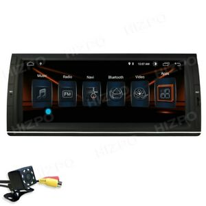 """For BMW X5 E53 IPS 10.25"""" Android 10 4-Core 2+32GB Car Stereo Radio GPS DSP RCA"""