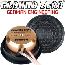 Ground ZERO gzut 25sqx 25mm TWEETER COPPIA DI ALTOPARLANTI TWEETER silkdome