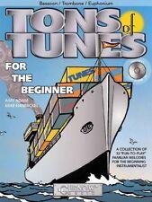 Tons of Tunes Beginners Book & CD Trombone Bassoon