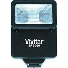 Vivitar SF3000 Bounce Zoom Slave Flash Enhance Photos, Colors & Saturation
