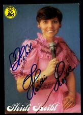 Heidi Loibl Autogrammkarte Original Signiert ## BC 48495