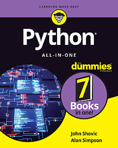 Python All-in-One For Dummies 1st Edition