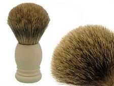 Dr. dittmar Brocha de afeitar depilar el pelo de tejón 22mm mango englisch-weiß