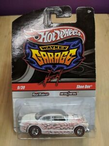 Hot Wheels Wayne's Garage Shoe Box 9/39 With Red Tire Real Rider