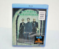 Matrix Reloaded (Blu-ray) (Widescreen) DVD by Warner Home Video BRAND NEW