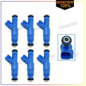 For 04-09 Ford Escape Taurus Mercury 3.0L Set 6 OEM 26LB 4L8E-A4A Fuel Injector