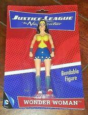 DC Comics Justice League - The New Frontier: WONDER WOMAN Bendable Figure!