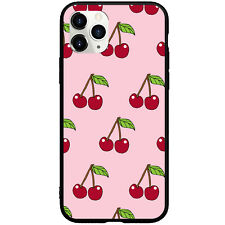 Pink Cherries Cherry Phone Case for iphone 11 Pro Max XS XR X 6 7 8+ SE 2020