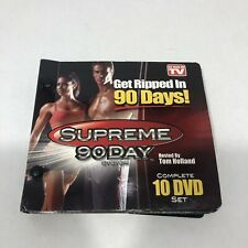 Get Ripped In 90 Days Tom Holland Supreme 90 Day Fitness System 10 Fit Disc Set
