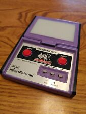 Nintendo Game Watch PANORAMA SCREEN MICKEY MOUSE DC-95 1984 Tested and WORKS!