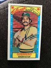 1979 Kellogg's 3-D Superstars #43 Mario Guerrero Oakland Athletics A's