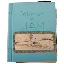 """""""Women of Jam"""" (Jacksonville Art Museum) Scrapbook 1971-1972"""