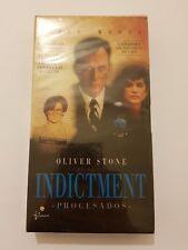 INDICTMENT (Procesados) pelicula VHS nueva y sellada de fabrica version Española