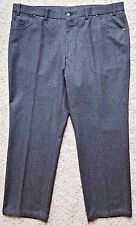 SAKS Fifth AVENUE Pants 41 30 GRAY Five POCKET Trouser WOOL Mens SIZE Canada SZ*