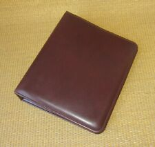 Classic Franklin Covey Burgundy Durable 15 Rings Open Plannerbinder