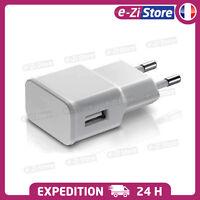 CHARGEUR SECTEUR 2A USB BLANC PRISE ADAPTATEUR UNIVERSELLE POUR SMARTPHONE APPLE