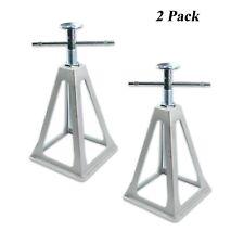 RV Stabilizer Aluminium Stack Jack Stand Camper Van Trailer Screw Adjust 2 Pack