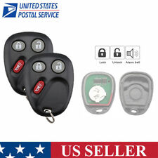 2 For 2003 2004 2005 2006 Chevrolet Avalanche Suburban 1500 2500 Remote Key Fob