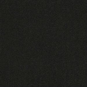 Charcoal Jet Black Heavy Duty Carpet Floor Tile 20 Box 5m2 Loop Pile Home Office