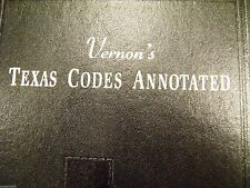 VERNON'S TEXAS CODES ANNOTATED PENAL Volume 3  (2003 Edition)
