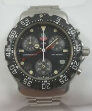 TAG Heuer Formula 1 Chronograph Black Dial Stainless Steel Men's Watch 571.513