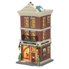 Department 56 Christmas in the City Village Jt Hat Co Building Figurine 6005381
