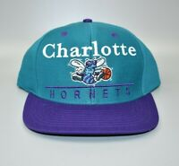 Charlotte Hornets adidas NBA Bar Spell Out Retro Snapback Cap Hat