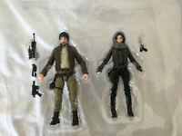 "Star Wars Black Series 6"" Captain Cassian & Jyn Erso Figure New in the Plastic"