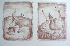 Eduardo Zamora Edición Limitada Litografía Estampado 142/150 Firmado Sn75