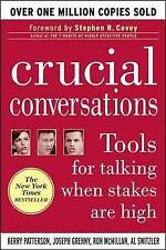 Crucial Conversations: Tools for Talking When Stakes are High, Acceptable, Kerry