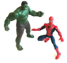 "Marvel Legends Comics Hulk Vs Spiderman detallada 10 ""Figura Set Lote, Vengadores"