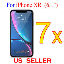 """7x Clear Screen Protector Guard Cover Shield Film For Apple iPhone XR ( 6.1"""" )"""