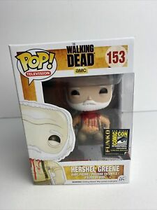 Funko Pop! The Walking Dead #153 Headless Herschel Greene 2014 SDCC Exclusive