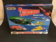 Matchbox 1992 Thunderbirds Rescue Pack Thunderbirds 1, 2, 3, 4 and FAB 1