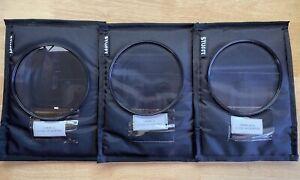138mm Revar Cine Close-Up Diopter Set: +0.50, +1, +2. New Open Box! USA Warranty