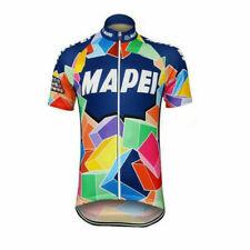 Mens Team Retro 1993 Mapei Cycling Jerseys Short Sleeve