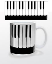 11 OZ COFFEE MUG CUP INSTRUMENT PIANO JAZZ CLASSICAL KEYBOARD POP MUSIC TEA CUP!