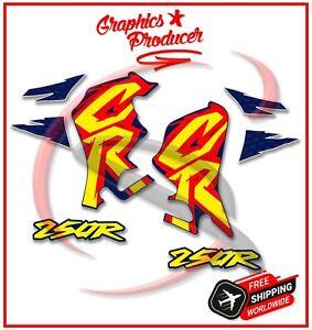 Honda CR250 CR 250 Replica Stickers Decals 1995 Model Style Left Right Graphics