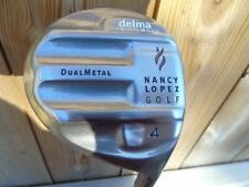 NANCY LOPEZ DELMA OFFSET   4 WOOD GRAPHITE SHAFT RIGHT HAND GOLF CLUBS