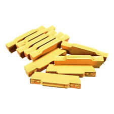 Pack of 10 MGMN300-M Inserts 3mm Width for MGEHR/MGIVR Lathe Tool Cutter