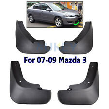 Set Mud Flaps For Mazda 3 i Sedan 2007 2008 2009 Flaps Splash Guards Mudguards